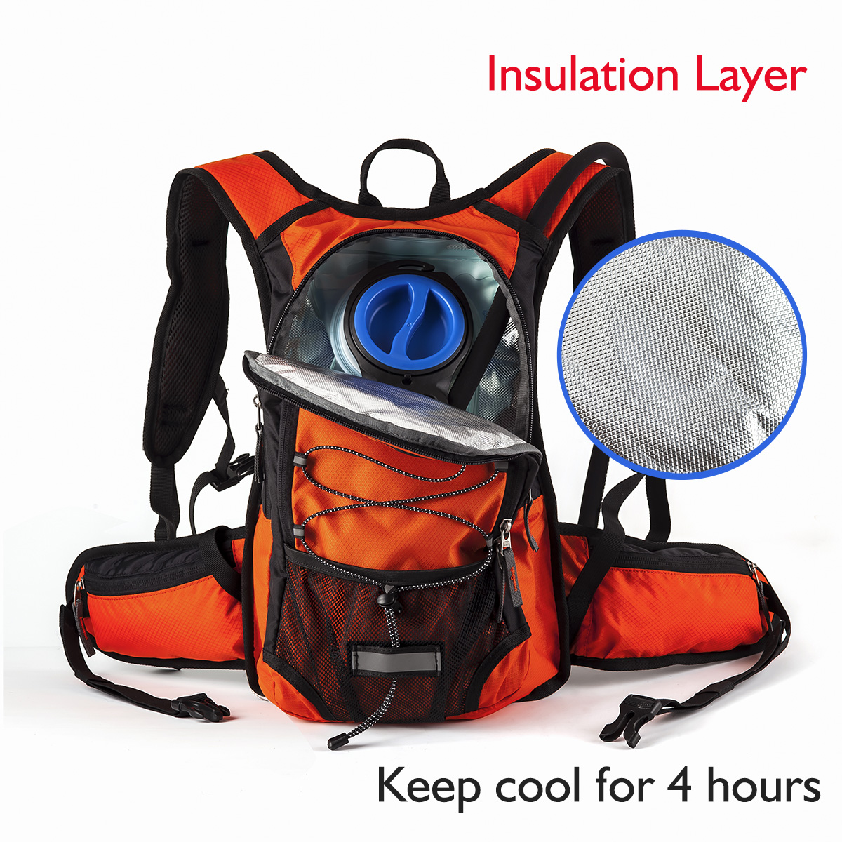 Miracol Hydration Backpack with 2L Water Bladder – Thermal ...